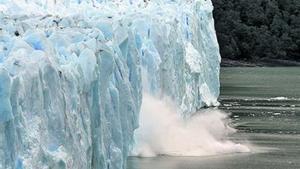 Les glaceres, com el Perito Moreno, amenaçades per l'escalfament.