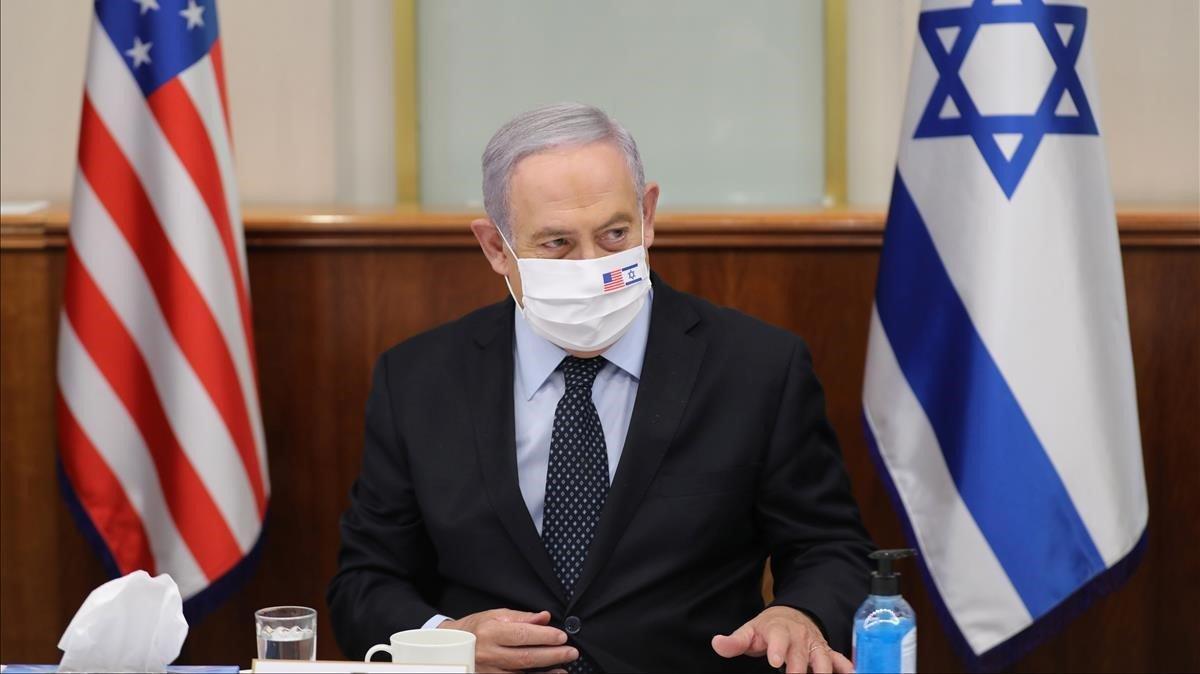 El primer ministro israelí, Binyamin Netanyahu.
