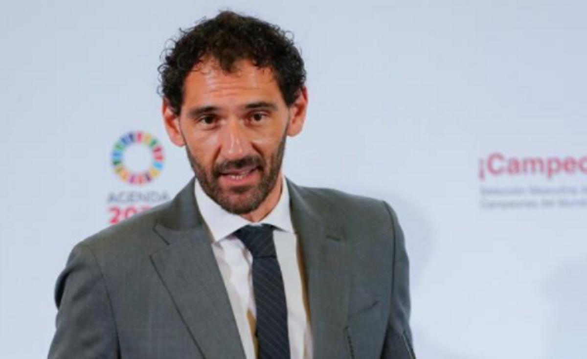 Jorge Garbajosa, en una imagen reciente en la sede de la Federación