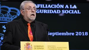El secretario de Estado de la Seguridad Social, Octavio Granado.