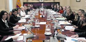 Primera reunión del pleno del CGPJ después de la renovación.