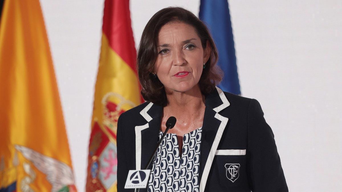 La ministra Reyes Maroto.