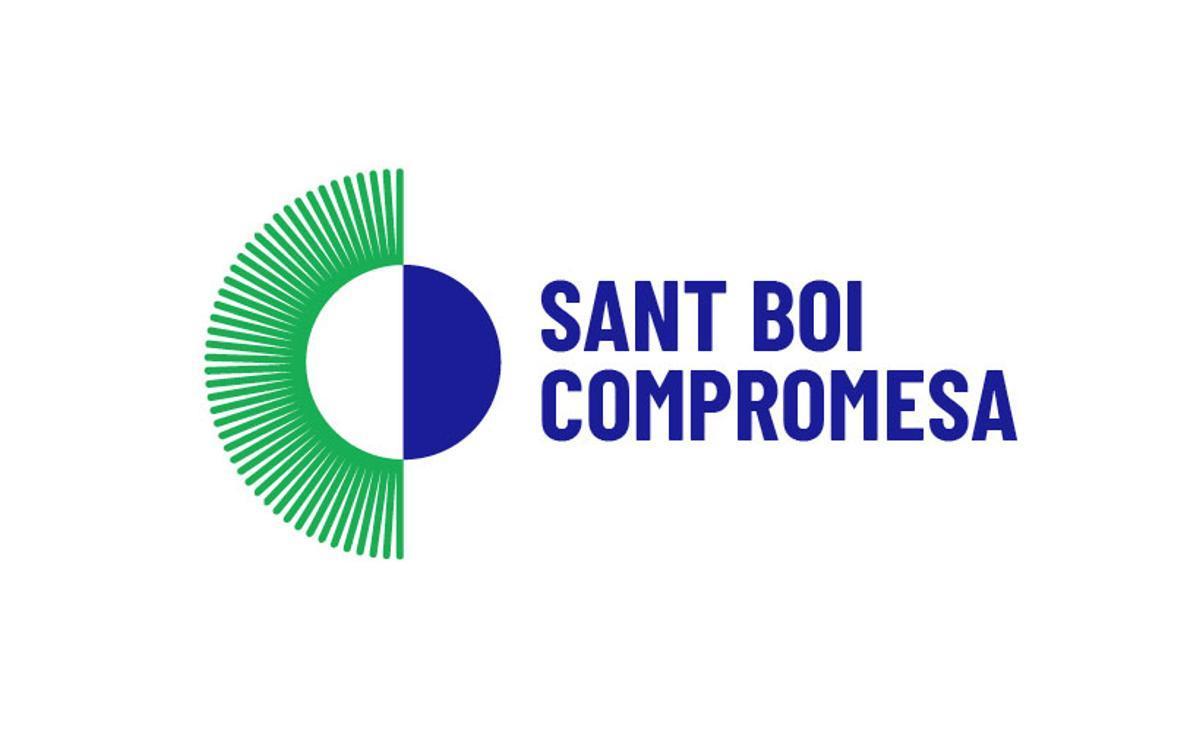 Logotip Sant Boi Compromesa