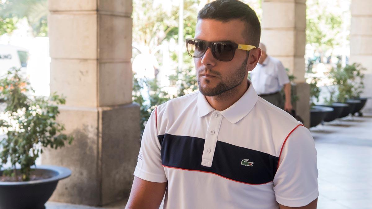 Ángel Boza, integrante de 'la Manada', detenido por robo y agresión en Sevilla.