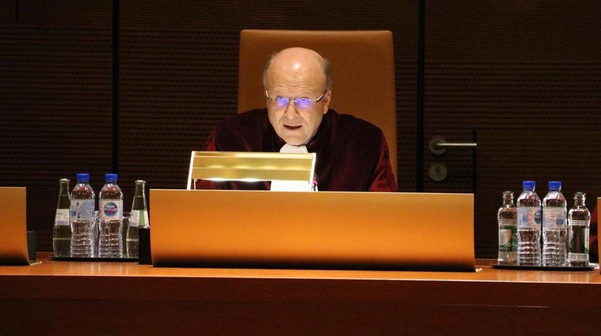 El presidente del TJUE, Koen Lenaerts.