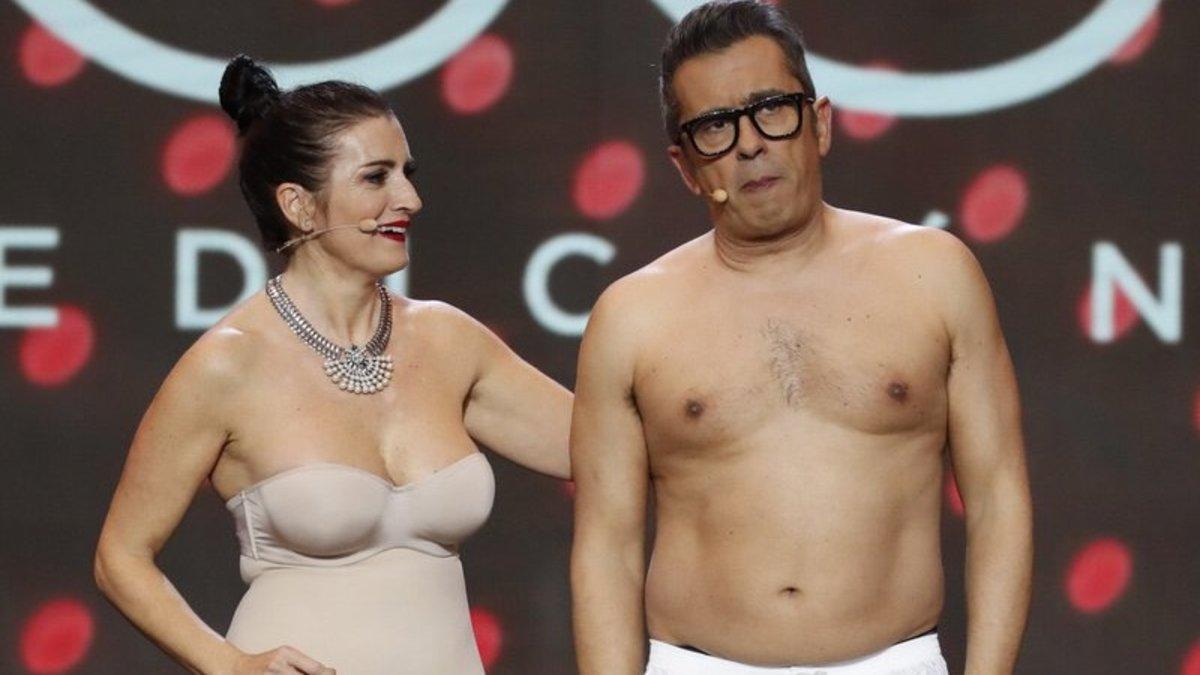 Silvia Abril y Andreu Buenafuente acaban desnudos en la gala de los Premios Goya