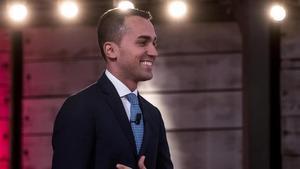 El candidato del Movimiento Cinco Estrellas, Luigi Di Maio, el pasado miércoles, 27 de febrero-