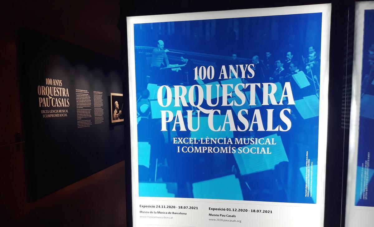 Entrada a esta exposición que celebra el centenario de esta formación.