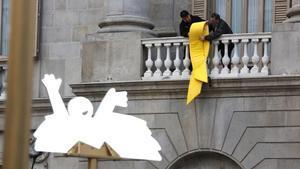 Catalá, partidari de retirar els llaços grocs de les institucions catalanes