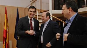 El PNB tornaria a guanyar les eleccions basques i obtindria majoria absoluta amb el PSE
