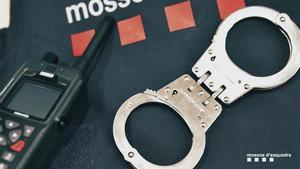 Material de la policía de los Mossos d'Esquadra.