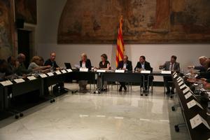 Consell Nacional d'Empresa, presidido por el 'president' Torra.