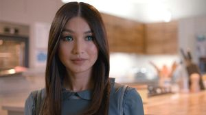 Gemma Chang, protagonista de la serie 'Humans', que imagina un mundo con robots inteligentes.