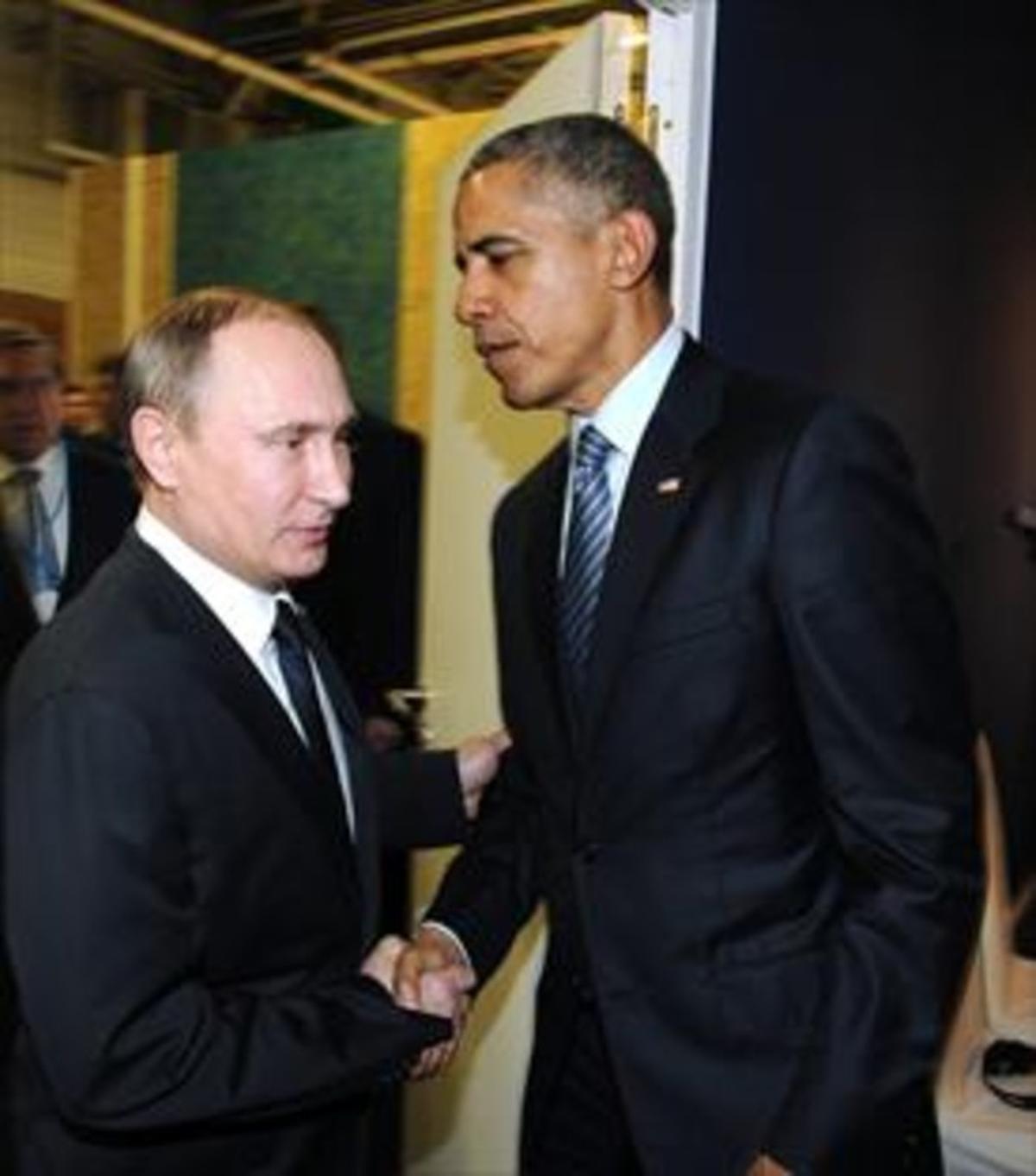 Obama y Putin, en septiembre del 2015, en la ONU.