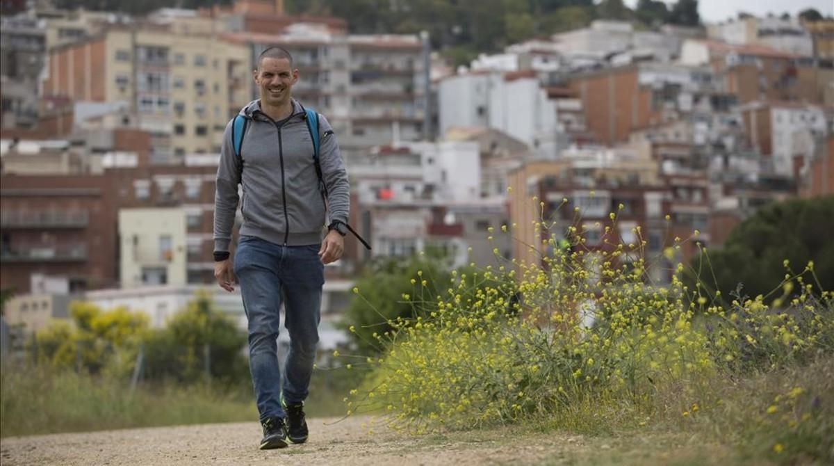 """Jordi Vázquez Abelló: """"Voy a Sant Cugat corriendo, doy tres clases de spinning y vuelvo"""""""