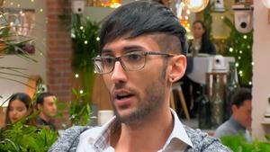 El Julio parla a 'First Dates' de la seva cridanera web: «La gent ven la seva roba interior utilitzada»