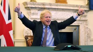 Boris Johnson reacciona al acuerdo con la UE
