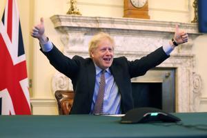 Boris Johnson reacciona al acuerdo con la UE