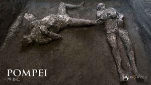 Troballa a Pompeia: un noble i el seu esclau, víctimes del Vesuvi