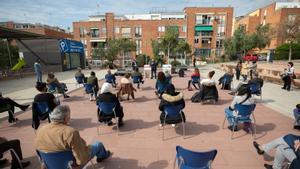 Presentación del proyecto A-porta en Viladecans