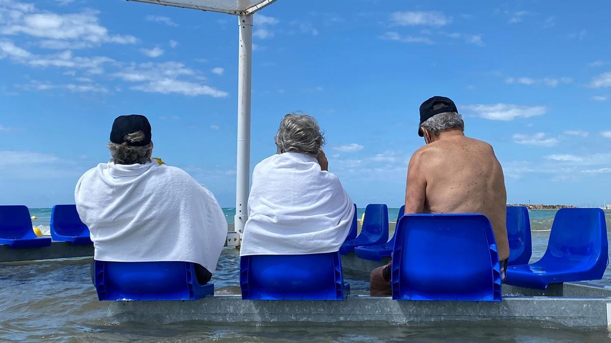 Cunit o cómo convertir el mar en accesible para todos.