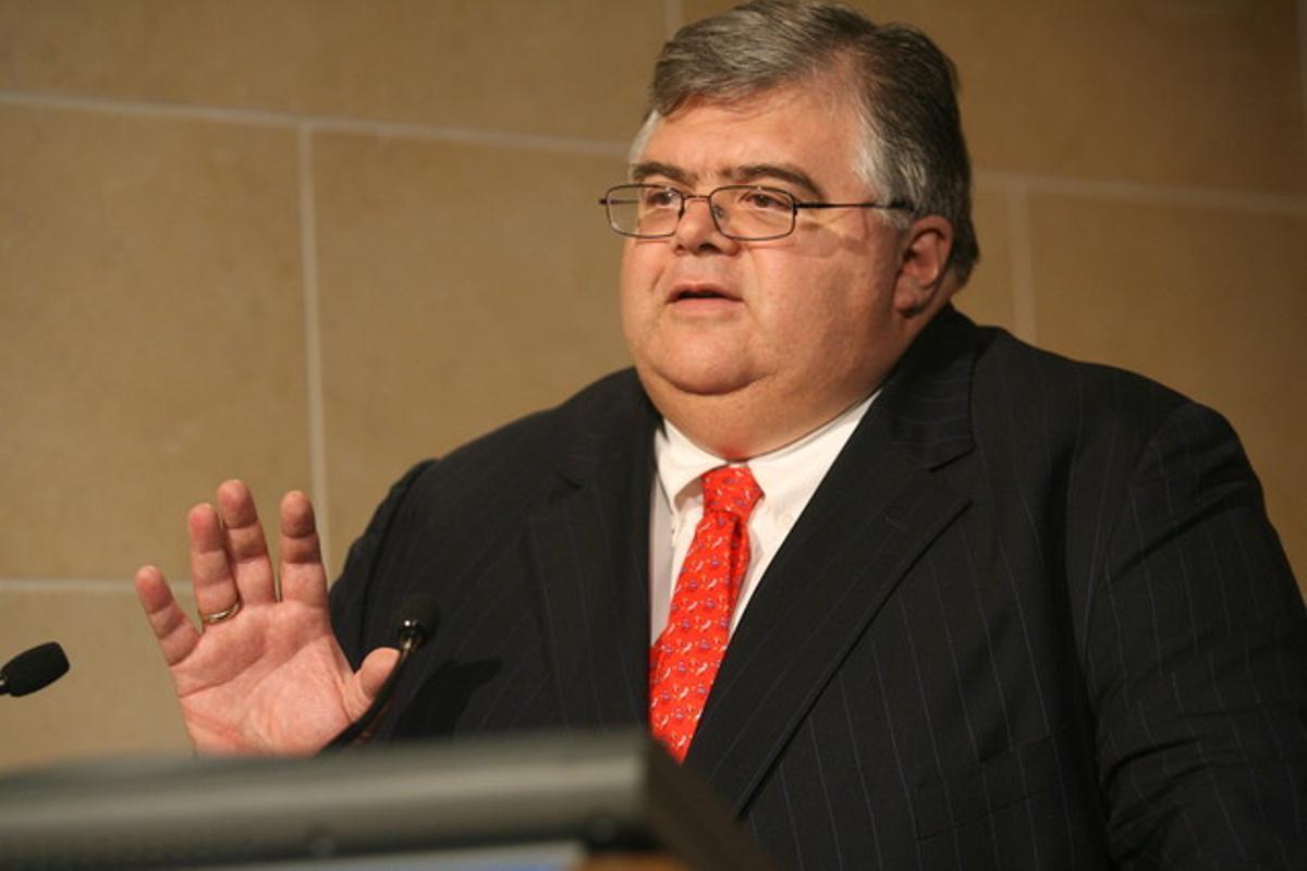 El director general del BPI, Agustín Carstens.