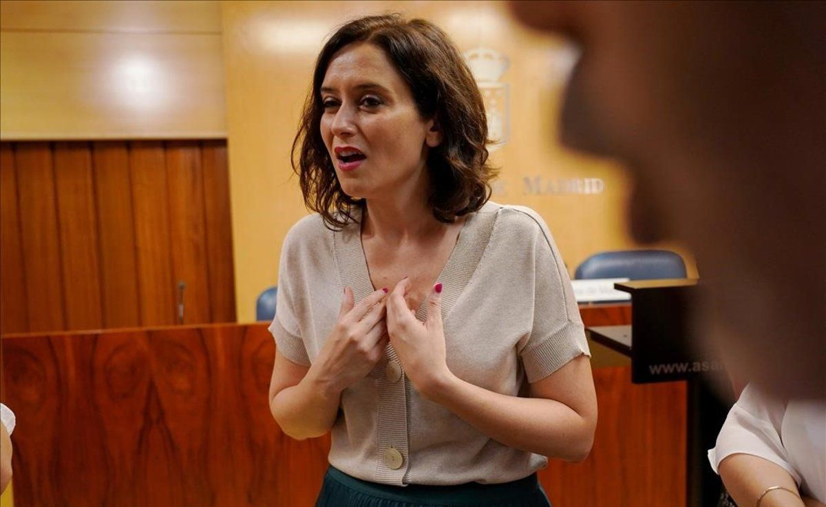 Isabel Diaz Ayuso, presidenta electa de la Comunidad de Madrid.