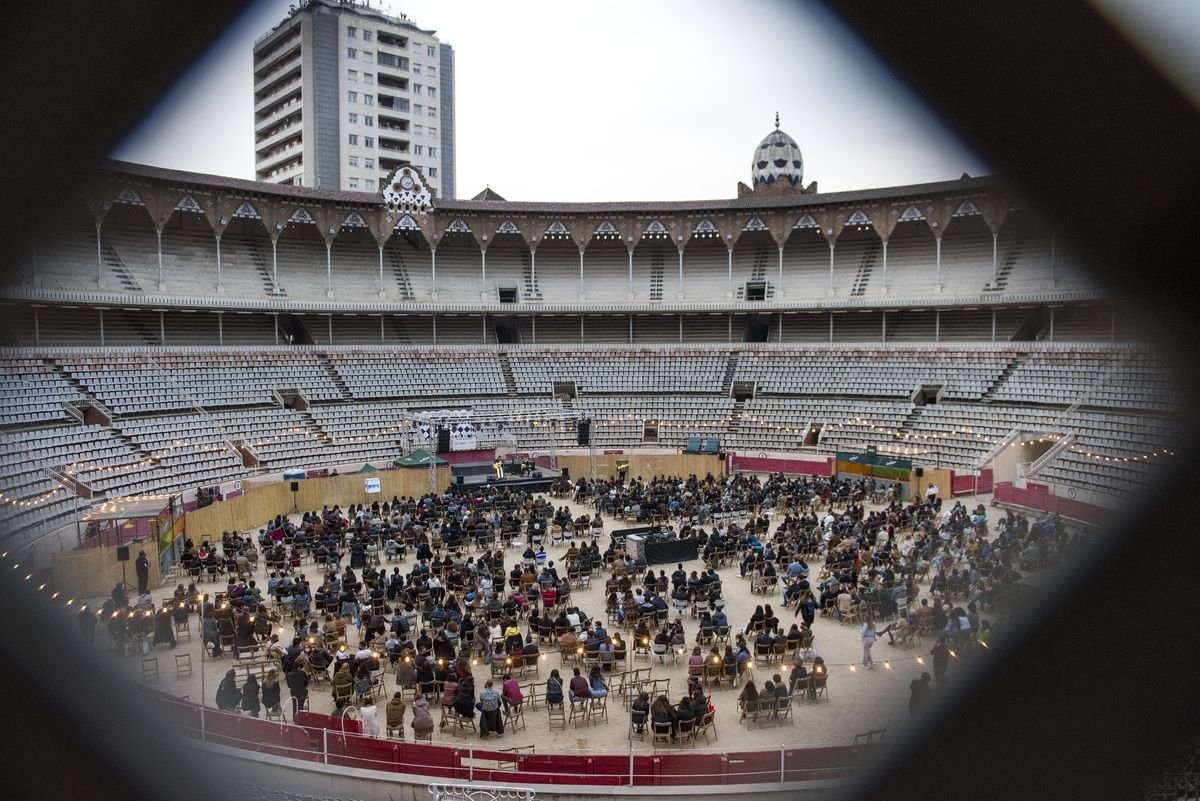 Concierto de La Bien Querida en el ciclo Monumental Club, en Barcelona el pasado 24 de abril