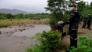 La Policía de Colombia investiga asesinatos masivos.