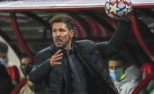 Diego Simeone, entrenador del Atlético.