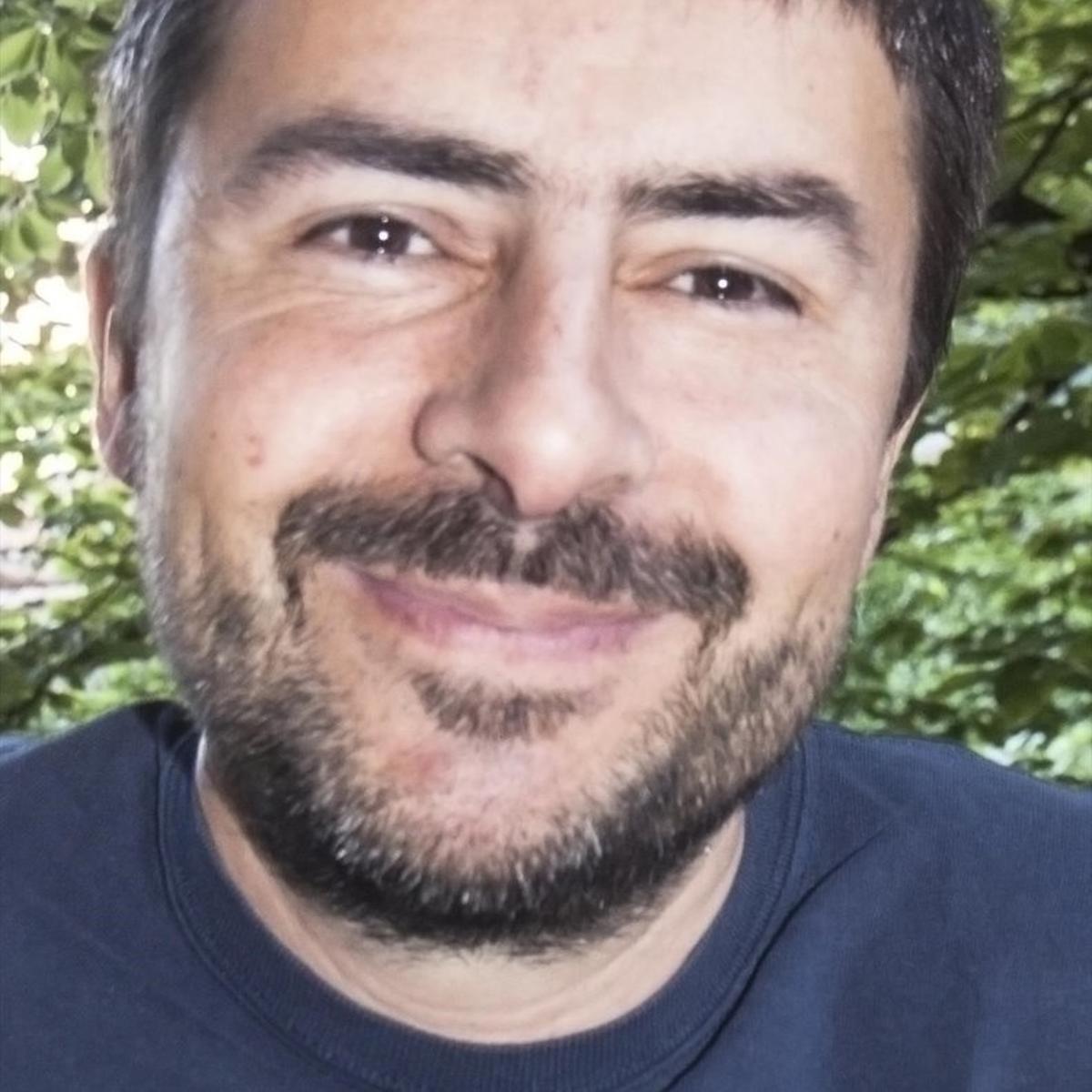 El escritor Pau Planes Puigvert.