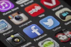 Aplicaciones de redes sociales.