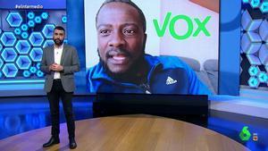 """Dani Mateo, tras la crítica de Bertrand Ndongo a Vox: """"Se acaba de dar cuenta de que son racistas"""""""