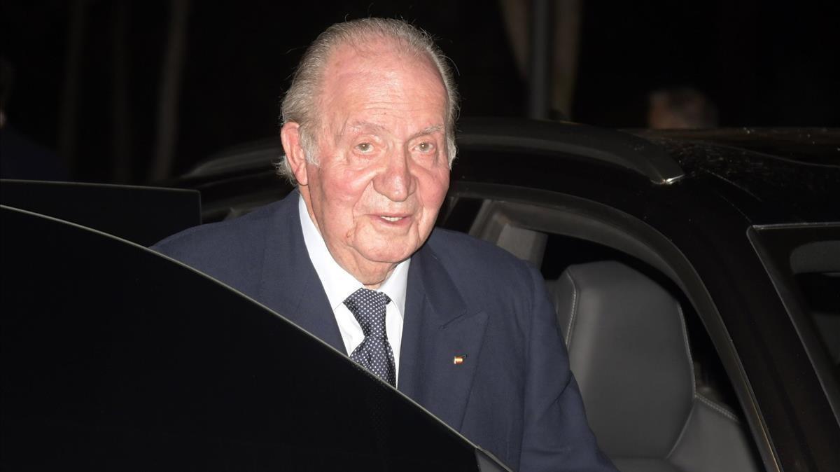 El rey Juan Carlos, en una imagen de archivo.