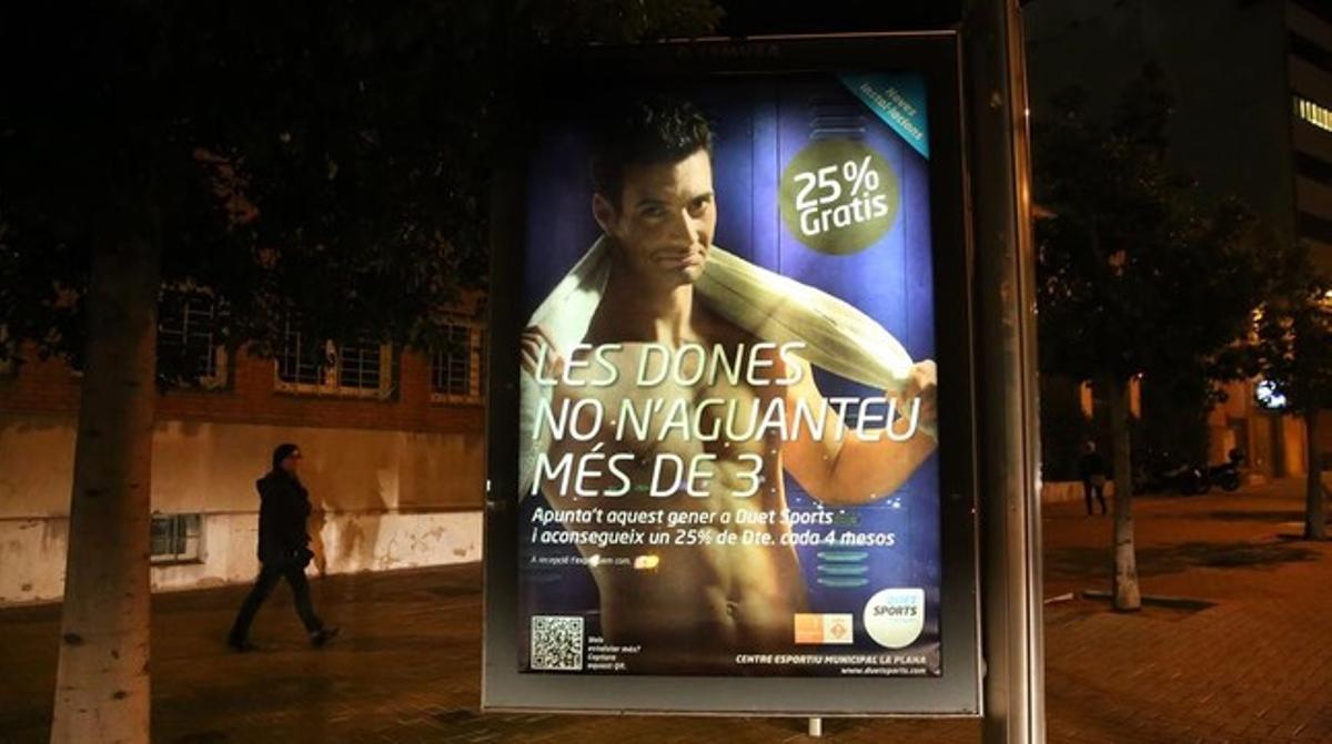 Anuncio de Duet Sports en Sant Joan Despí