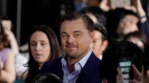 Leonardo DiCaprio, en Tokio, este 26 de agostoen la presentación de 'Érase una vez en Hollywood.
