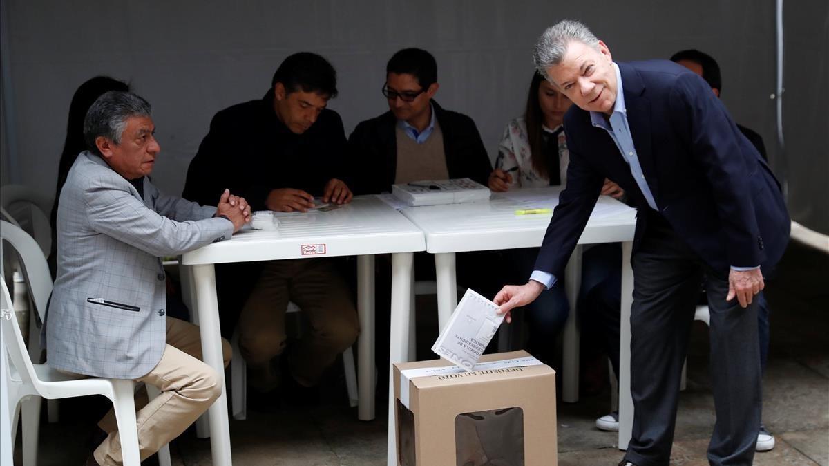 Colòmbia: Polarització a la vista