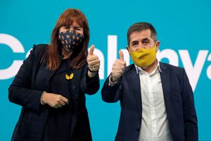 Laura Borràs y Jordi Sànchez.