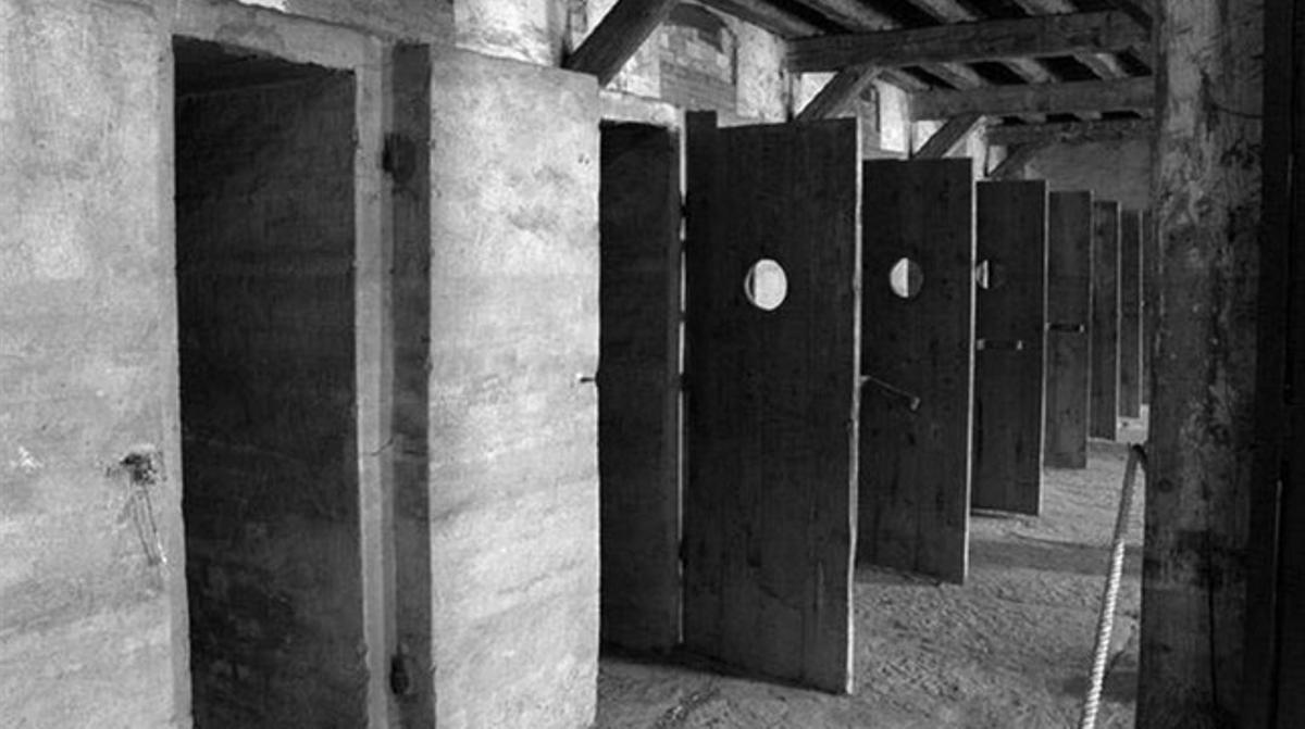Imagen del único campo de concentracion nazi que hubo en Italia, el de San Sabba, que aparece en la novela documental 'Trieste' de Dasa Drndic.