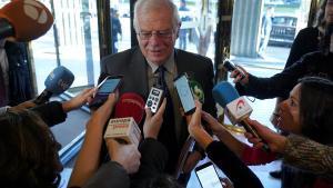 """Borrell: """"No reconeixeré Kosovo perquè ho digui un director general del COI"""""""