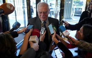 El ministro Josep Borrell.