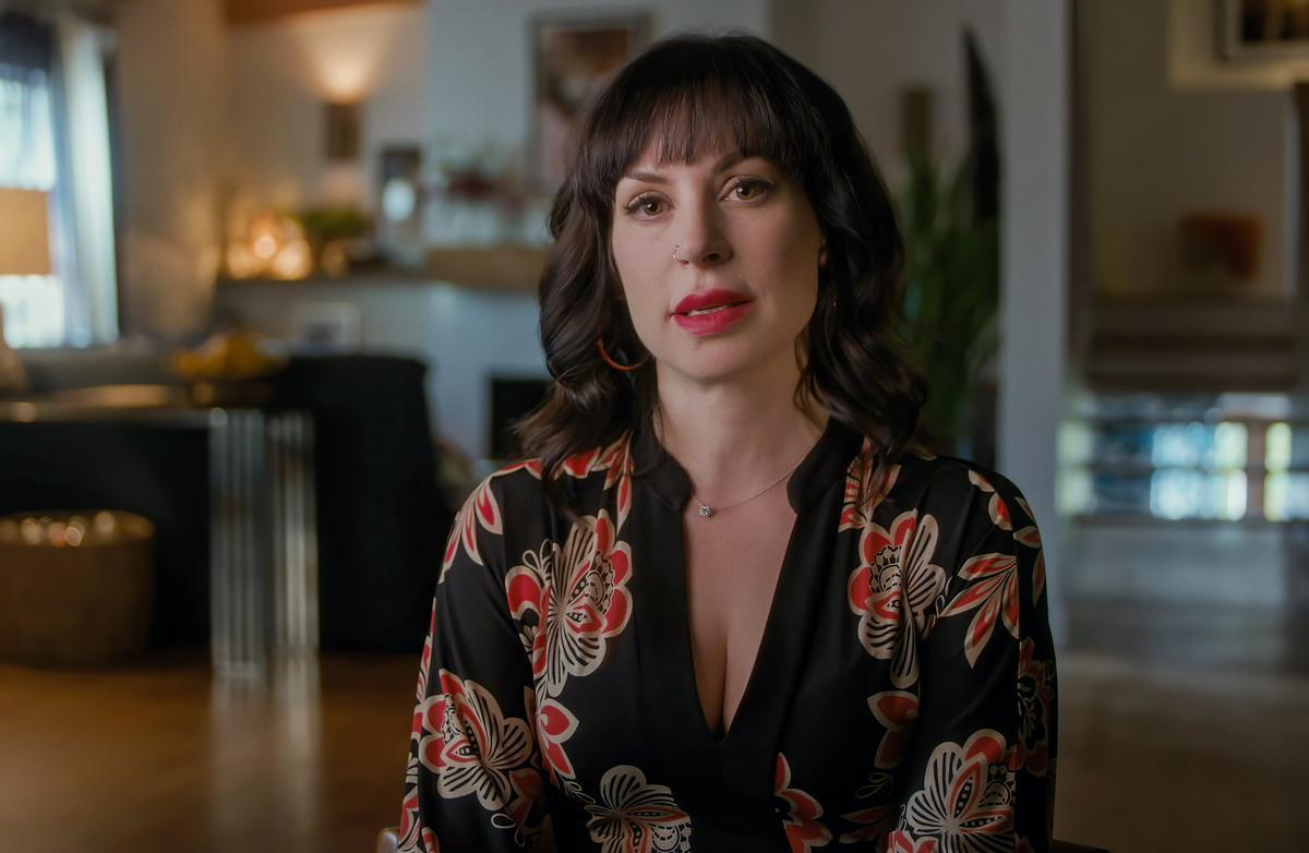 La escritora Jillian Lauren en una imagen de 'Confronting a serial killer'.