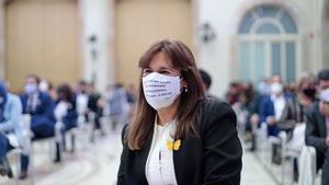 Laura Borràs, elegida nueva presidenta del Parlament.