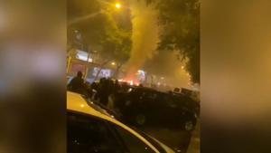 Disturbis a Sevilla contra el toc de queda