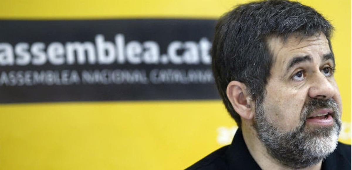 El presidente de la Assemblea Nacional Catalana, Jordi Sánchez.