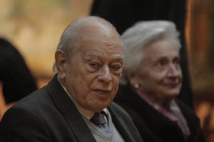Jordi Pujol y Marta Ferrusola, en una imagen de febrero de 2020
