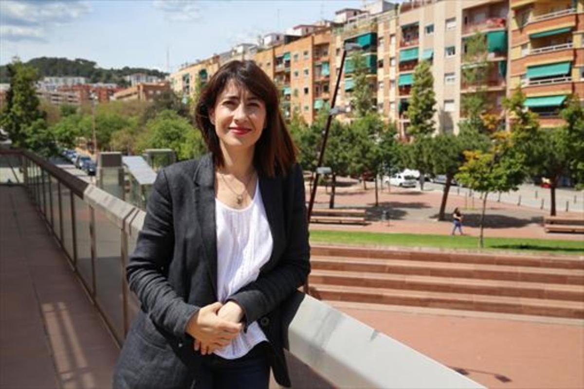 La alcaldesa de Gavà, la socialista Raquel Sánchez.