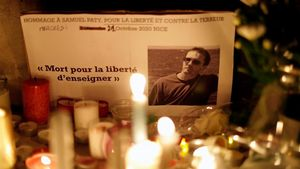 Samuel Paty: 10 dies d'assetjament a les xarxes que van acabar amb el seu assassinat