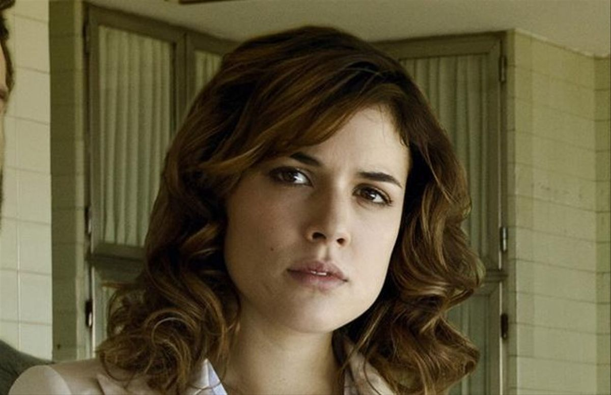 L'actriu Adriana Ugarte, a la minisèrie de Tele 5 'Niños robados'.