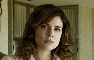 La actriz Adriana Ugarte, en la miniserie de Tele 5 'Niños robados'.
